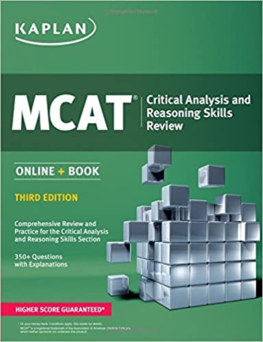 Online Book MCAT Critical Analysis and Reasoning Skills Review