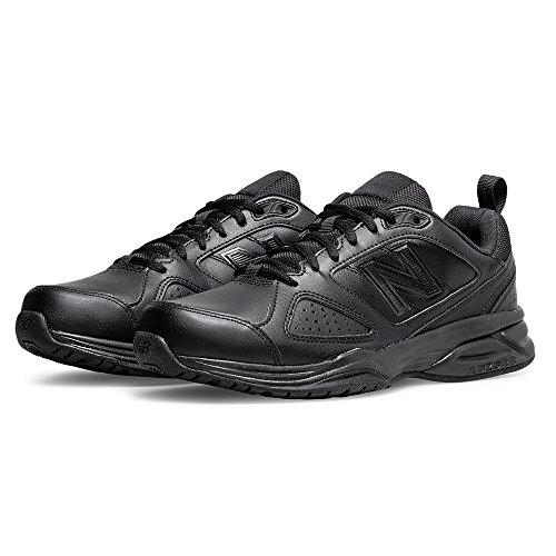 Hallenschuhe 45 Ab4 Black 5 EU Schwarz New Black Balance 624 Herren qAwOTt