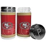 NFL San Francisco 49Ers Salt & Pepper Shakers, Red,