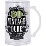 Laid Back CF11004 60th BD Vintage Dude Tankard, 14-Ounce