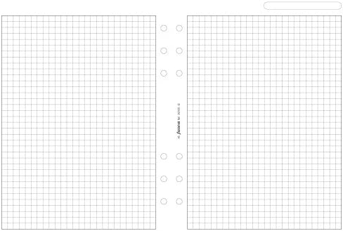 Filofax Notizpapier, A5, quadrilliert, Weiß