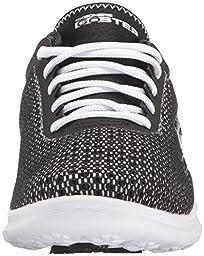 Skechers Performance Women\'s Go Step Intensity Walking Shoe, Black/White Multi, 7 M US