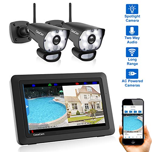 CasaCam VS1002 Wireless Security Camera System with for sale  Delivered anywhere in USA
