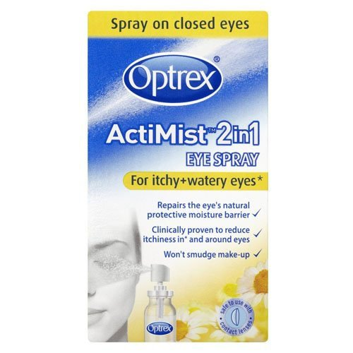 Optrex 2-in-1 Actimist Eye Spray for Itchy and Watery Eyes 10 ml