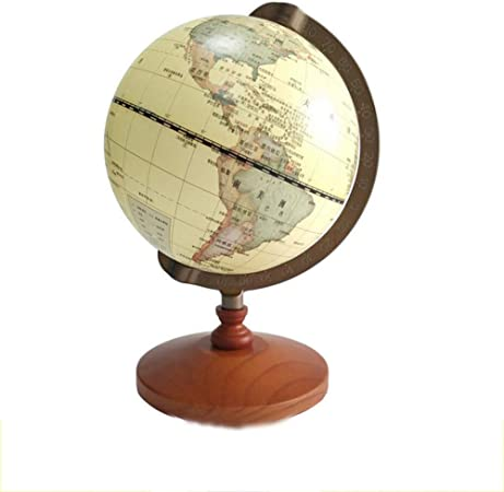 14cm Rotating Stand World Earth Globe Map School Geography