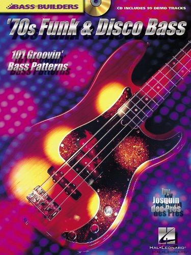 '70s Funk & Disco Bass - 101 Groovin' Bass Patterns - Bass Builders Bk+CD