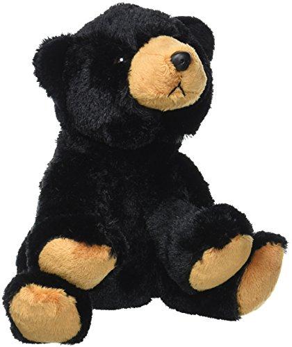 Wild Republic Black Bear Plush, Stuffed Animal, Plush Toy, Gifts for Kids, Cuddlekins - Stuffed Black Bear Animals