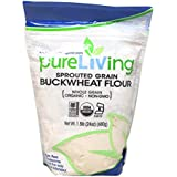 Pure Living Liv Organic Sprouted Buckwheat Flour -- 24 oz
