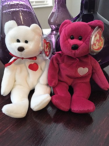 Beanie Babies Set of 2 (Valentino and Valentina) for sale  Delivered anywhere in USA