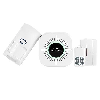 AOLVO - Detector de Movimiento PIR con Alarma Inteligente y ...