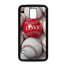 Custom Samsung Galaxy S5 Case,Baseball Hard Plastic Hard Case for Samsung Galaxy S5