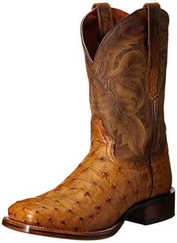 Dan Post Men's Alamosa Western Boot, Saddle Tan, 10 D US