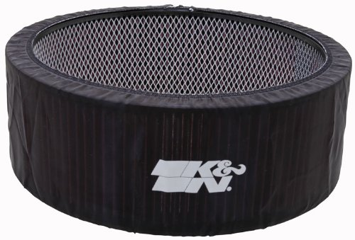K&N E-3760PK Black Precharger Filter Wrap - For Your K&N 25-3760 Filter