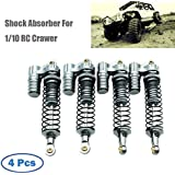 Rucan 1:10 Scale RC Crawler Accessory Parts 100mm Springs Damper For RC4WD SCX10