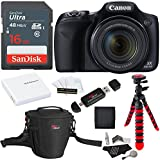 Canon PowerShot SX530 HS + SDHC 16GB + Tripod + Ritz Gear Bag + Battery + Card Reader + Cleaning Kit + Screen Protector + Polaroid Memory Card Wallet
