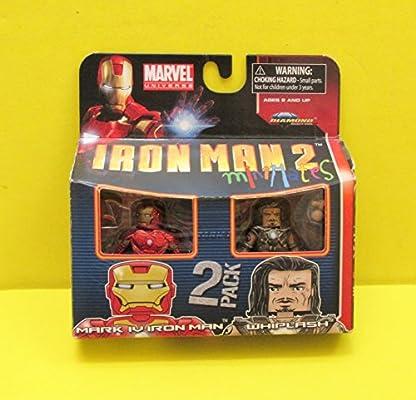Diamond Select Marvel Minimates Series 35 Mini Figura 2 Pack Iron ...