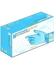 Hycare Medische Nitril Poeder Gratis Wegwerp Handschoenen Blauw Maat M (100 stuks)