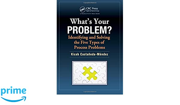 Whats Your Problem? Identifying and Solving the Five Types of Process Problems
