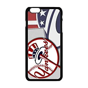 HUAH New York Yankees Fashion Comstom Plastic case cover For Iphone 6 Plus