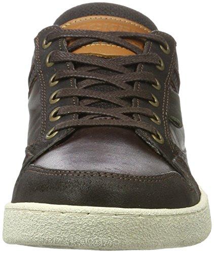 Gerli By Sneakers Dockers 41tm002 Homme Basses 201 Marron dunkelbraun OwU5Udq