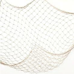 Creamy White Fishing Net Beach Theme Dec...