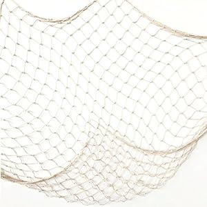 51mVGn85u5L._SS300_ Nautical Fish Net Decor