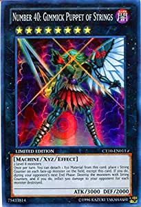 Yu-Gi-Oh! - Number 40: Gimmick Puppet of Strings (CT10 ...Number C40 Yugioh