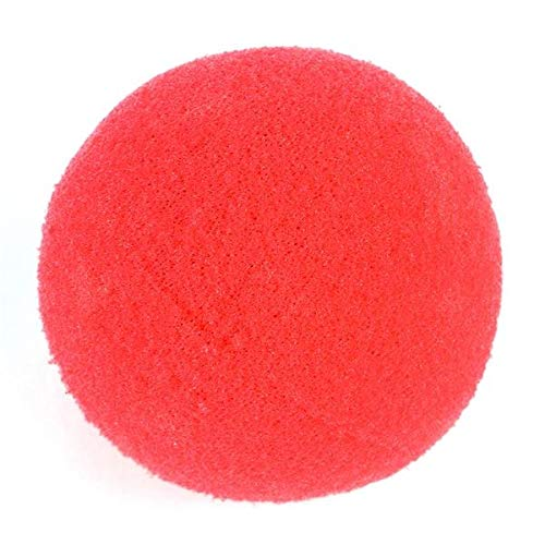Rhode Island Novelty Foam Clown Nose, Red pack of 12