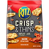 Ritz Crisp & Thins Bacon Flavor Chips, 7.1 Ounce