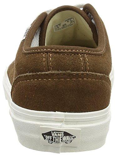 Vans Vulcanized, Unisex-Adults' Trainers Brown (Vintage - Dark Earth/Blanc)