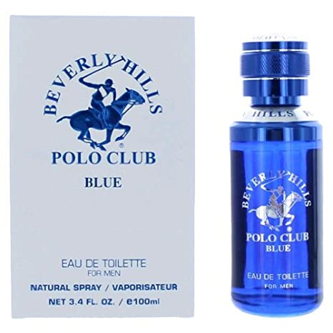 Beverly Hills Polo Club Blue by Beverly Hills Polo Club, 3.4 oz Eau De Toilette Spray for Men