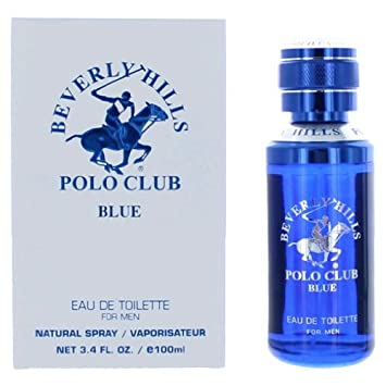 Beverly Hills Polo Club Blue by Beverly Hills Polo Club, 3.4 oz Eau De Toilette