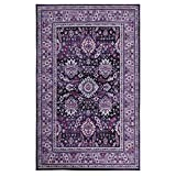 Mohawk Home Z0107 A409 060096 EC Marshall Purple Area Rug, 5'x8 Review