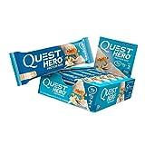 Best Low Carb Bars - Quest Hero Bar, Vanilla Review