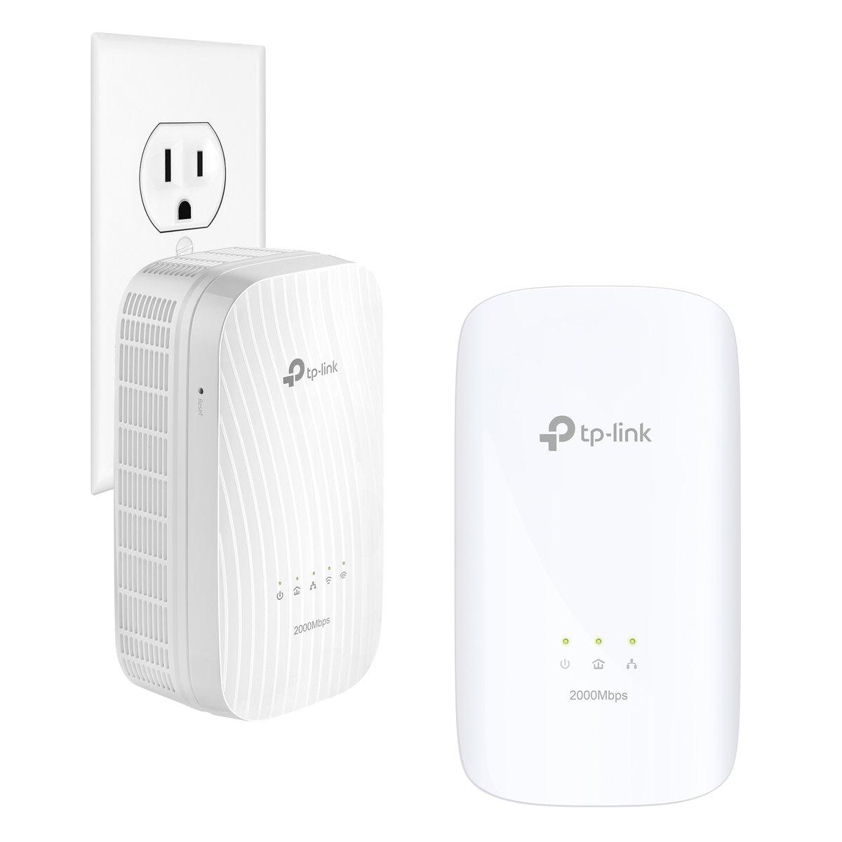 TP LINK TL WPA KIT Extensor de red por línea Wi Fi