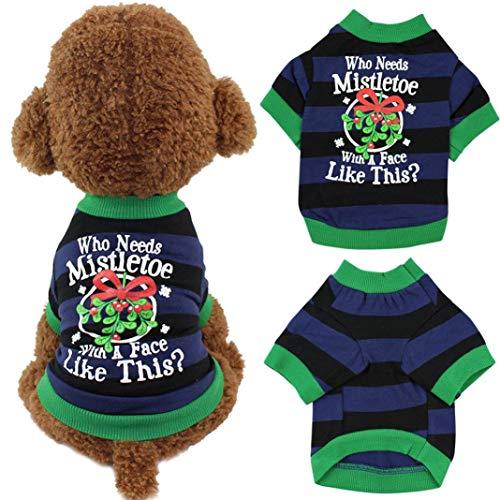 Homemade Puppy Dog Costumes - ewrTM Dog Accessories T-Shirt Christmas Pet