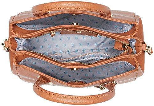 Trussardi Jeans Levanto, Borsa Tote Donna, 30x23x19 cm Marrone (Cuoio)