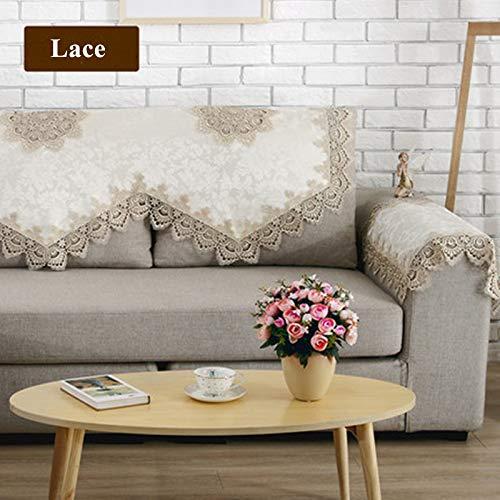 Amazon.com: Zoomy far New Europ Style Sofa Towel Elegant ...