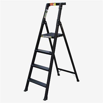 Escalera plegable Cubierta escalera de metal, herramienta Escalera ...