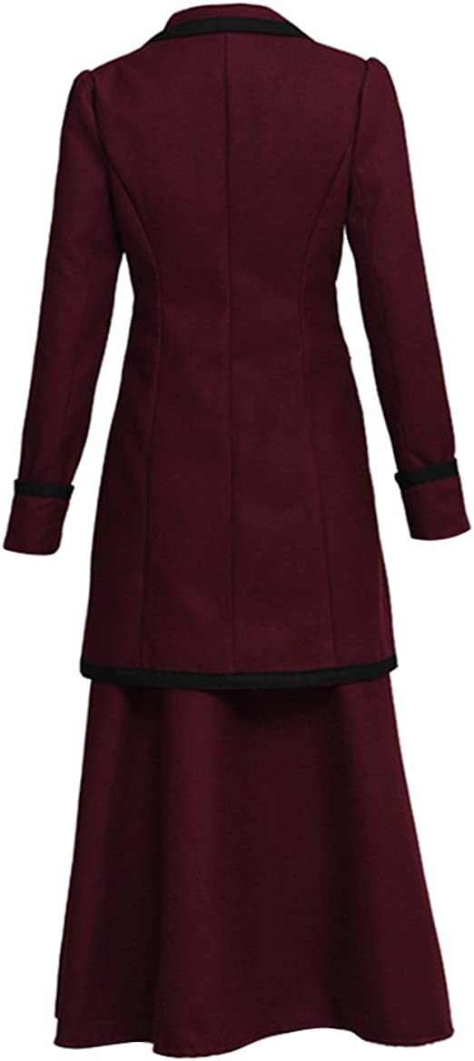 Cosplaydiy 12th DOCTOR DOCTOR WHO coat only custom size available