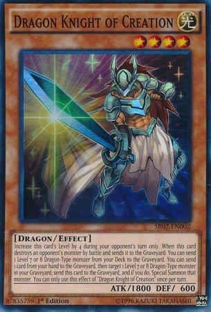 Amazon.com: YuGiOh 1st ED Dragón Caballero de creación sr02 ...