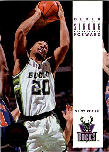 1993-94 SkyBox Premium #247 Derek Strong RC NBA Basketball Trading Card from SkyBox Premium