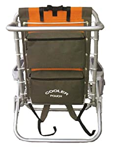 Rio Gear Ultimate Backpack Chair with Cooler from Rio Brands