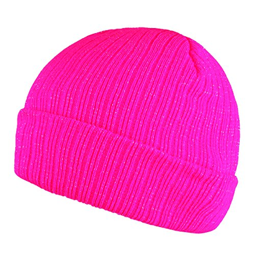 Pink Winter Beanie (Timol Warm Winter Hat Knit Beanie Skull Cap For Women (Hot-Pink))