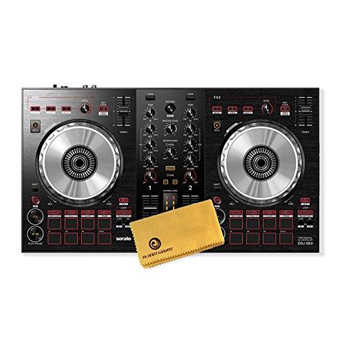 Pioneer DJ DDJ-SB3 DJ Controller Bundle with Polishing Cloth