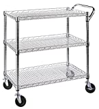 Image of Seville Classics Industrial All-Purpose Utility Cart, NSF Listed