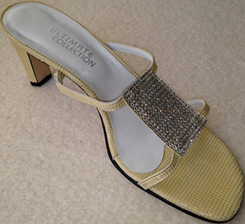 ULTIMATE COLLECTION - Sandalias de vestir para mujer Amarillo CREAM YELLOW