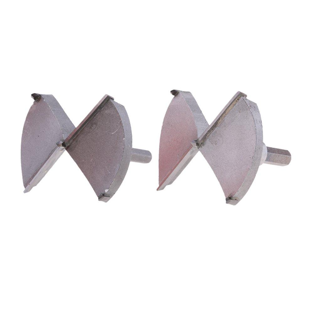 Sharplace Holzbohrer Forstnerbohrer Set Gr/ö/ße zum Auswahlen 70mm 60mm 65mm 75mm 80mm
