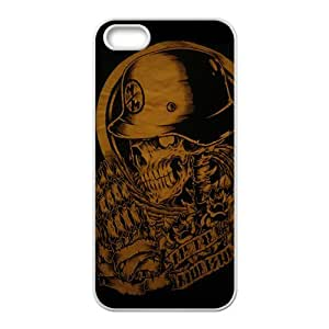 Rockband guitar legend skull Cell Phone Case for iPhone 5S