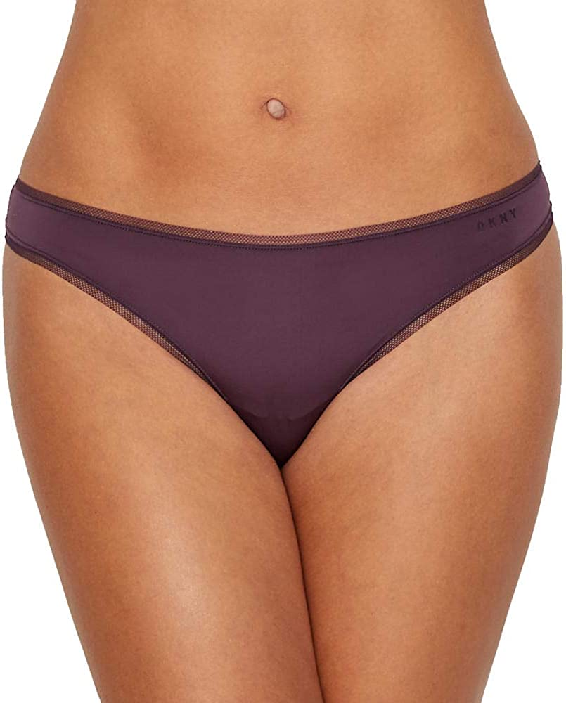 DKNY Womens Mesh Litewear Thong